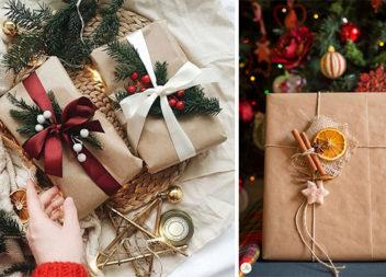 Оформляємо святкові подарунки (38 новорічних ідей)