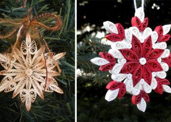 Творимо сніжинки в техніці квілінг (30 видів для творчості)