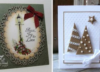 Ідеї святкових листівок. Hand made. 38 фото для паперової творчості