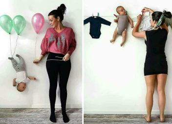 Цікаві ідеї для фотосесії мами із синочком