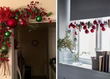 Прикрашаємо оселю до свят: новорічний та різдвяний декор (30 ідей)