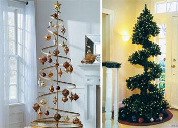 Спіральна ялинка - модне новорічне деревце. 25 видів для реалізації самотужки