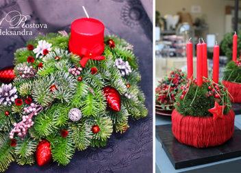Різдвяна флористика: 40 ідей, які можна зробити своїми руками
