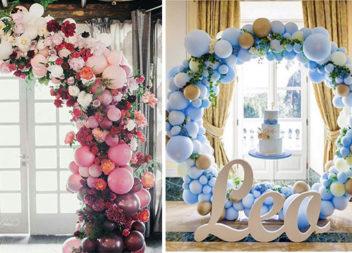 55 варіантів оформлення свята повітряними кульками