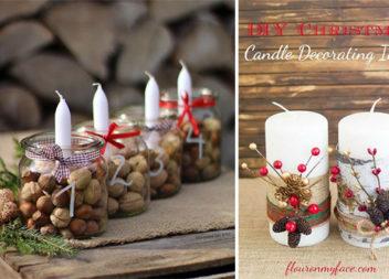 Прикрашаємо свічку до Святвечора: 45 креативних ідей