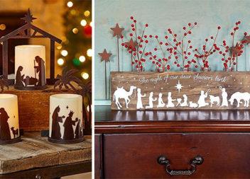 Альтернатива традиційній різдвяній шопці. Красиві ідеї