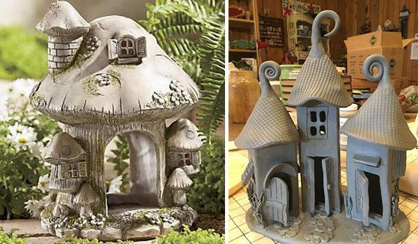 Неймовірні керамічні будиночки: 25 ідей для ліплення