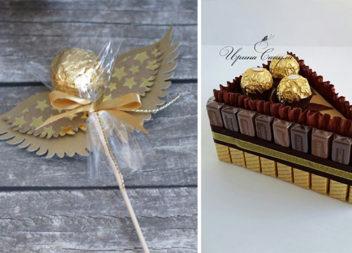 35 способів красиво подарувати солодощі