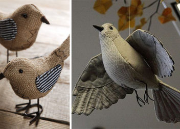 Шиємо пташки самотужки: ідеї та викрійки