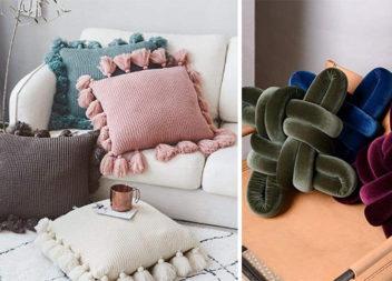 Декоративні подушки для затишної оселі. Цікаві ідеї для пошиття самотужки