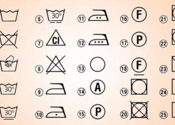Що означають значки на бірках одягу. Розшифровуємо самотужки