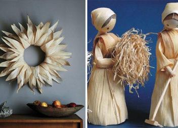 Вироби із кукурудзяного листя: 50 ідей