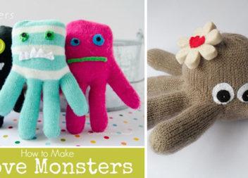 Переробляємо старі рукавички на креативні іграшки. Більше 20 ідей