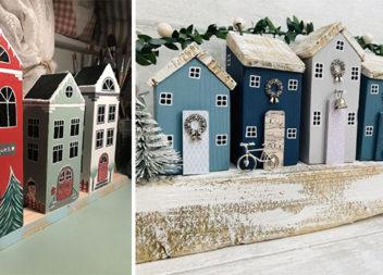 Декоративні дерев'яні будиночки своїми руками. Більше 30 ідей