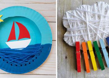 Вироби із ниток для дитячої творчості. 10 цікавих ідей