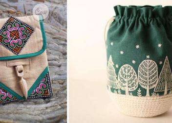 Оздоблюємо вишивкою сумочки та косметички: 60 ідей для натхнення