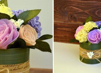 Робимо чарівний букет квітів із фетру самотужки. Майстер-клас
