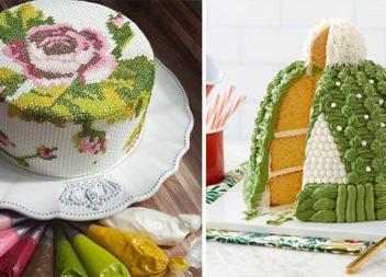 Солодкий подарунок для рукодільниці: 120 ідей святкового тортика
