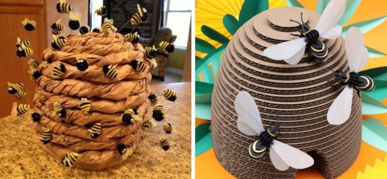 Створюємо вулики та бджілки своїми руками: 40 ідей для творчості