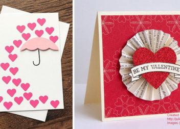 Оригінальні валентинки самотужки: 50 цікавих ідей