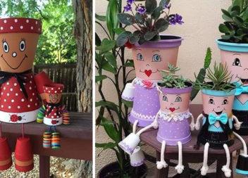 Креативне оформлення вазонів із квітами (15 ідей)
