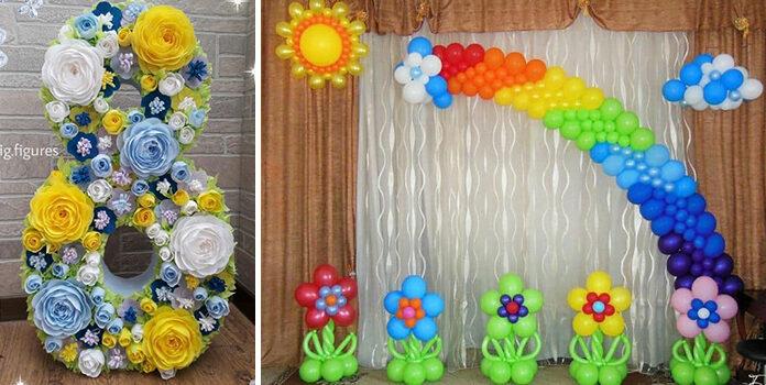 Декорації до свят в садочках та школах (80 ідей)