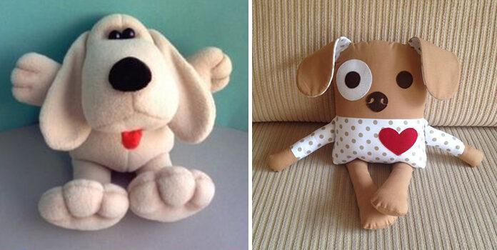 Собаки із текстилю: більше 60 викрійок для пошиття іграшки самотужки
