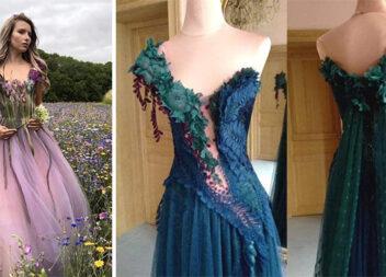 Коли сукня - витвір мистецтва!