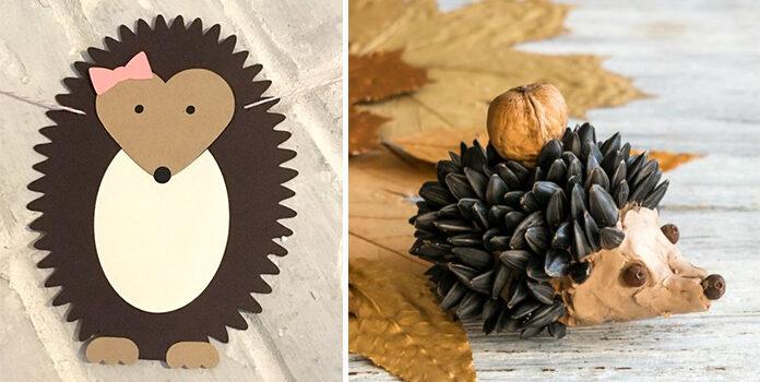Створюємо їжачків самотужки: більше 60 виробів з паперу, ниток та природних матеріалів