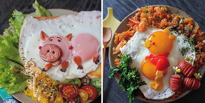 Звичайна яєчня в незвичайному виконанні: гарний настрій на весь день забезпечено!