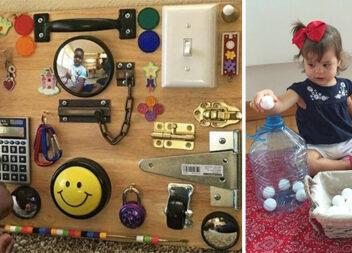 40 геніальних ідей для батьків, як самотужки створити забаву для дитини