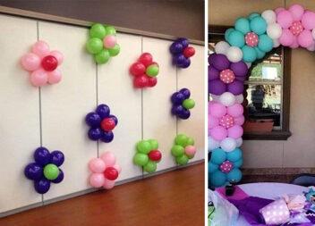 Оформляємо свято повітряними кульками (15 фото ідей)