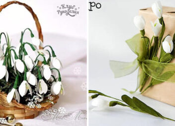 Створюємо перші весняні квіти самотужки. 12 детальних майстер-класів