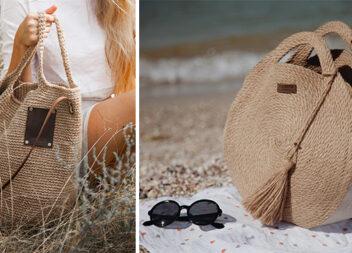 Ексклюзивні сумки та декоративні кошики із джгуту! Ідеальні аксесуари на весну!