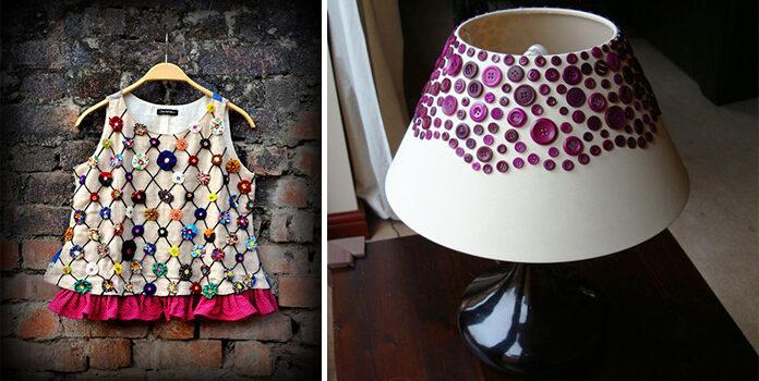 Незвичні ідеї використання ґудзиків: одяг, аксесуари, декор (більше 60 фото)