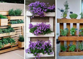 Креативні рішення для створення клумб із дерев'яних піддонів та ящиків