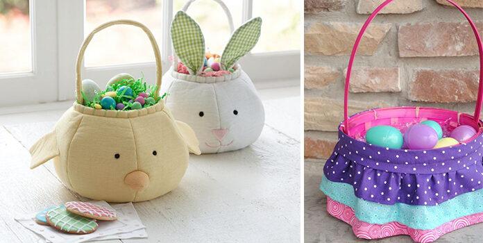 Текстильні кошики до Великодня: красивий та практичний декор