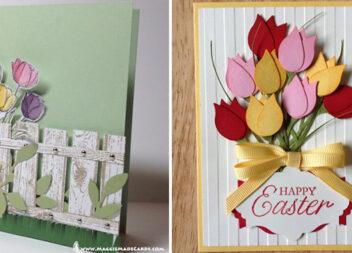 Створюємо красиві весняні листівки своїми руками. Добірка ідей