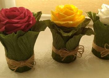 Троянда з сюрпризом - чудовий подарунок своїми руками. Майстер-клас