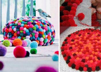Фантастичний декор із помпонів, який можна зробити самотужки (більше 40 ідей)