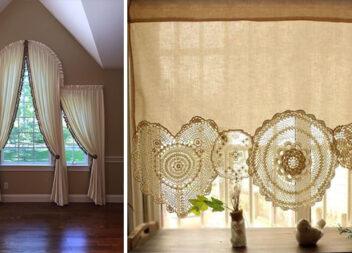 Декоруємо вікна: красиве оформлення тюлю та шторами