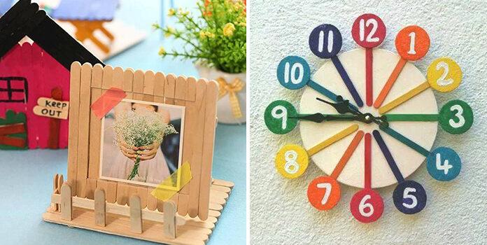 25 виробів із дерев'яних шпателів. Ідеї для творчості