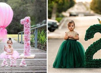 Дитяча фотосесія: красивий декор для ідеального фото