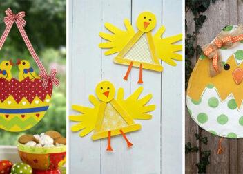 Виготовляємо курчатко із паперу: ідеї та майстер-класи