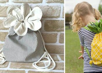 Дитячі сумочки та рюкзачки: 16 кольорових ідей для найменших