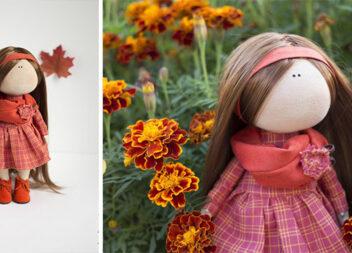 Шиємо текстильну ляльку самотужки: майстер-клас