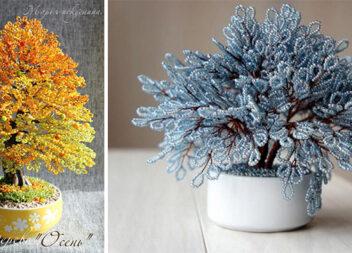 Бісероплетіння: фантастичні дерева (ідеї для натхнення)