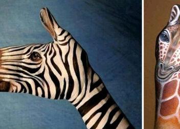 Фантастичний боді-арт: коли фарбами можна намалювати все