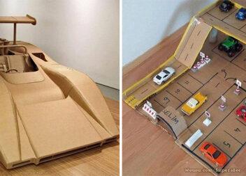 Вироби з картону: творчі ідеї для батьків та дітей