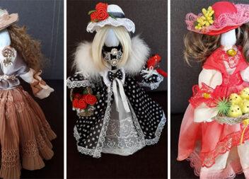 Авторська інтер'єра лялька: красива іграшка та незвичний елемент декору